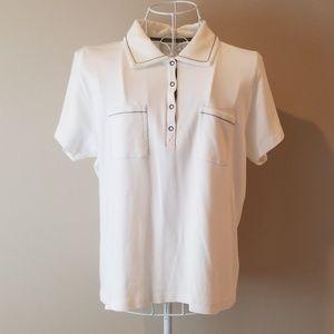 Liz Claiborne Cotton Polo